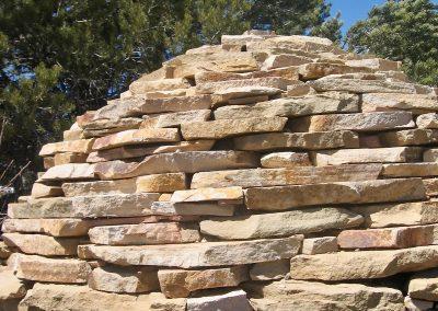 flagstone sphere rock art